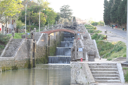 Vélorail Canal du Midi Points d'Intêret
