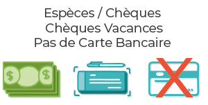 paiement Vélorail Canal du Midi